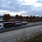 Betriebshof an der Autobahn